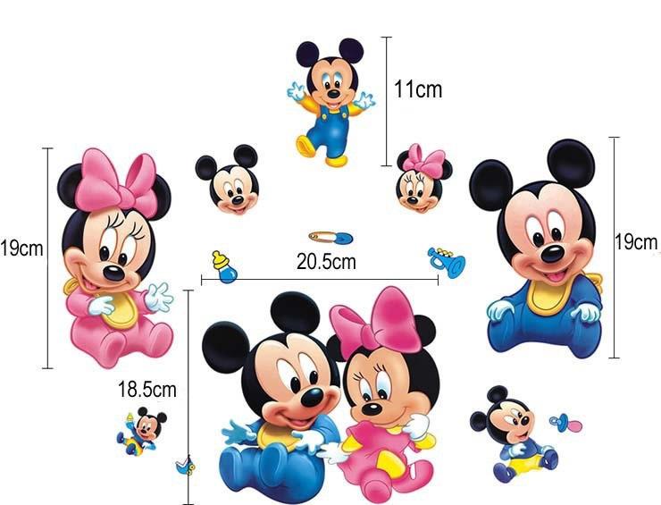 Detske Samolepky Walt Disney Na Vypinace Mickey Mouse To Je Bezva