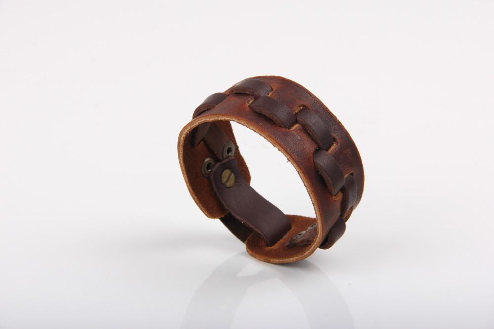 0f7ee4c38 Kvalitní pánský stylový kožený náramek. Skladem 2 ks, více na dotaz